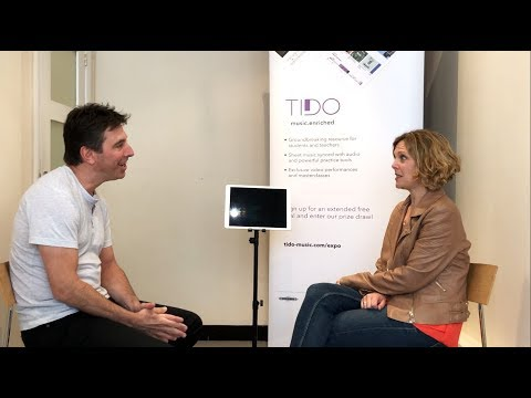 Elin Manahan Thomas interviewed by Brad Cohen at Tido