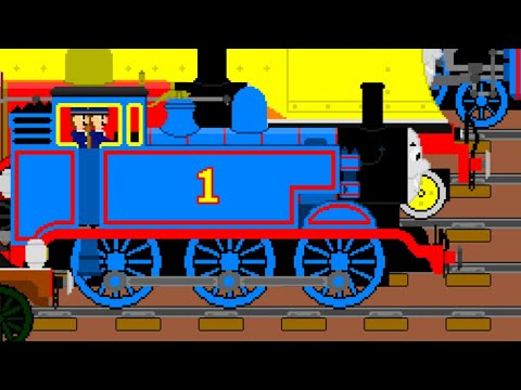 THOMAS AND FRIENDS ANIMATED - STEAM TEAM TO THE RESCUE (75TH ANNIVERSARY SPECIAL)