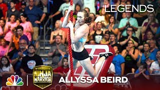 Allyssa Beird: Second Woman to Finish Stage 1 - American Ninja Warrior