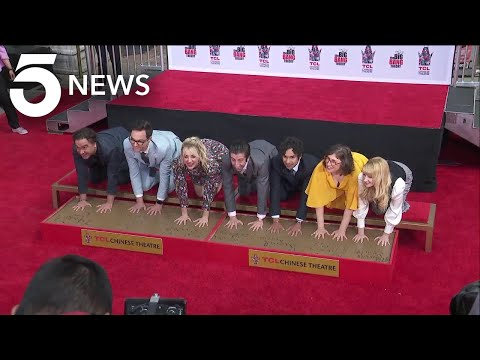 'big-bang-theory'-stars-imprint-hands-at-chinese-theatre