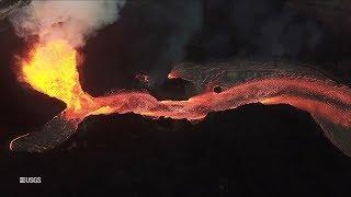 Kīlauea Volcano - Fissure 8 Aerial