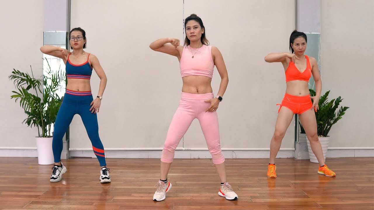 TOP 7 🔥 Exercises For Weight Loss (EP.1) - At Home Dance Workout With Mira Pham | Eva Fitness