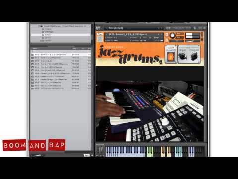 BoomAndBap - Straight Ahead Jazz Drums library for Kontakt