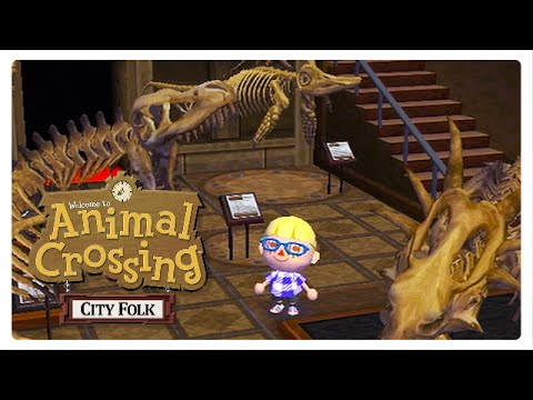 Exploring My Old MUSEUM! - Animal Crossing: City Folk