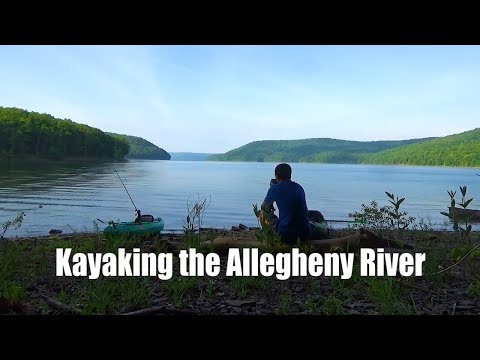 Kayak Camping the Allegheny River - 3 Days in Allegheny National Forest