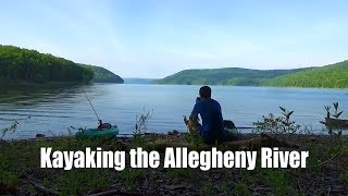 Kayak Camping the Allegheny Reservoir- 3 Days in Allegheny National Forest