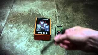 Laser mini télémètre handheld m u cocagnetires