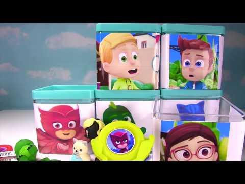 PJ Masks Toy Surprise Blind Boxes! Disney Jr. Owlette, Catboy, Gekko, Amaya, Connor