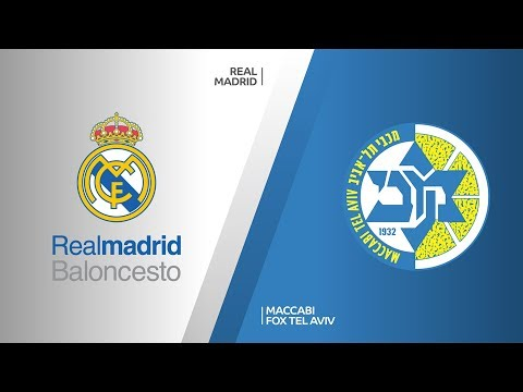 Real Madrid - Maccabi FOX Tel Aviv Highlights | Turkish Airlines EuroLeague, RS Round 2