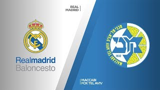 Real Madrid - Maccabi FOX Tel Aviv Highlights | Turkish Airlines EuroLeague, RS Round 2