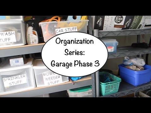 Organization Series: Garage Phase 3
