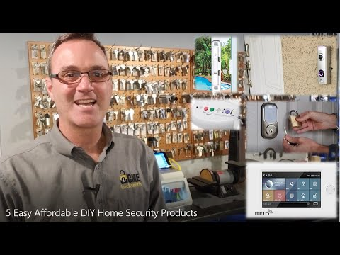 5 Cool DIY Home Security Products - Locksmith Recommended