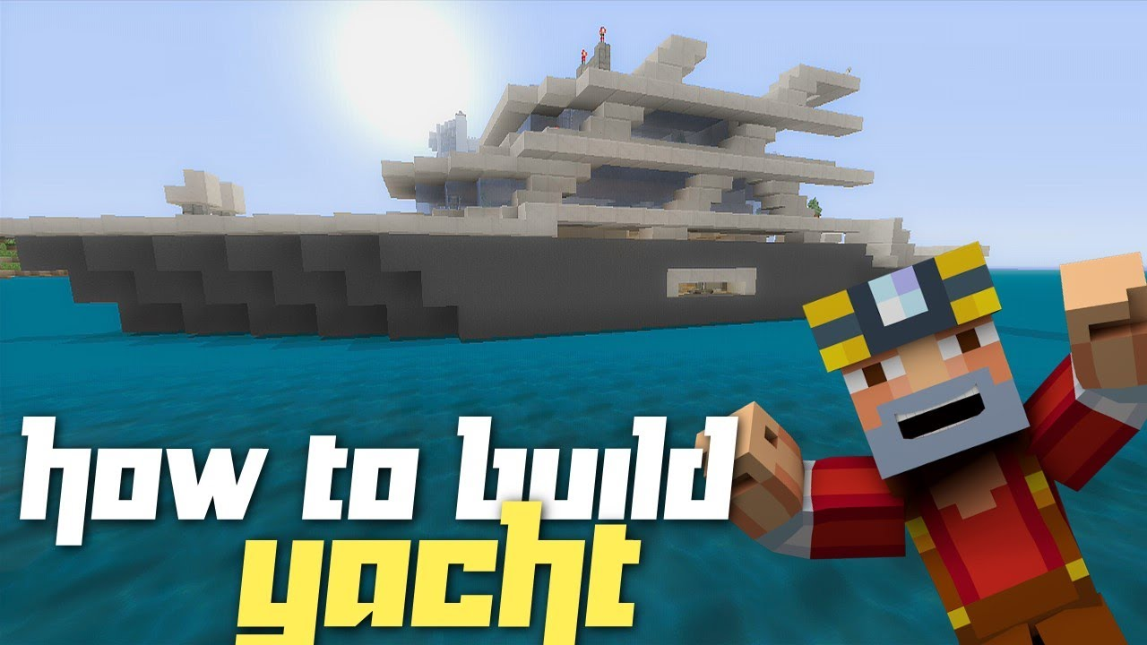 Minecraft Xbox 360: How to Build a Yacht! (Part 1) - YouTube