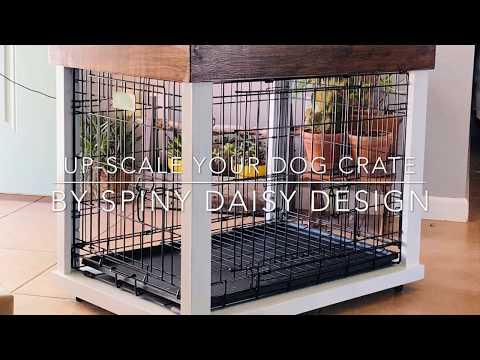 Upscale a Dog Crate