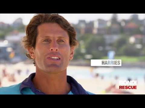 Bondi Rescue Drone Video (FRED Surf Life Saving Drone)