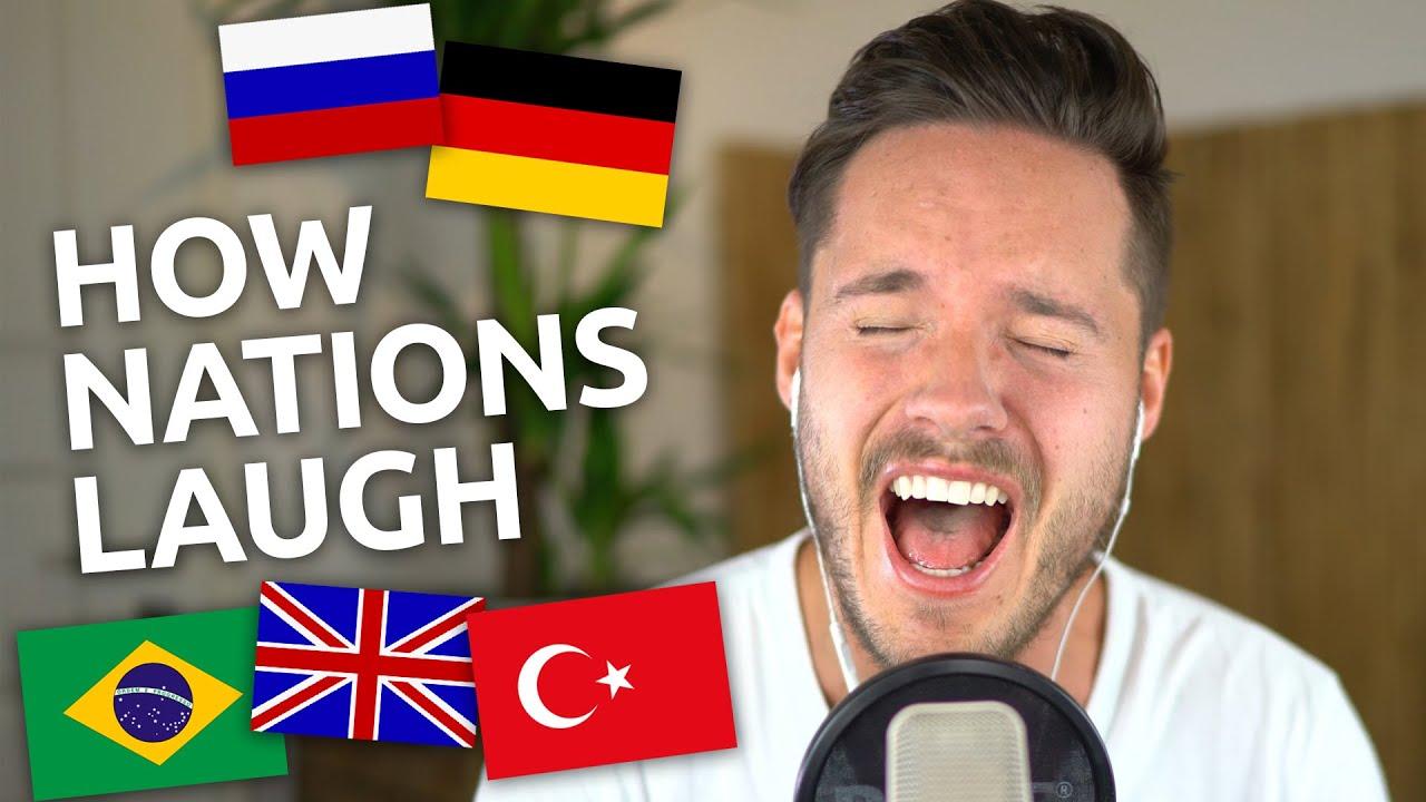 Како се смеат луѓето од различни националности?