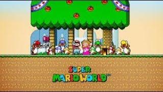 Live de Super mario world-Gartic-Among-us/Roblox!!