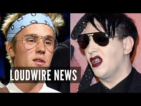 Marilyn Manson Rips Apart Justin Bieber After Pop Star's Claim