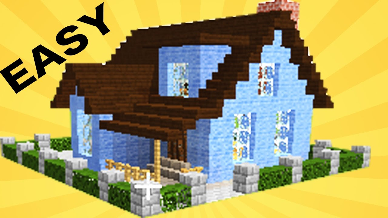 MINECRAFT】: how to build a cool house in 15 min #30 - YouTube
