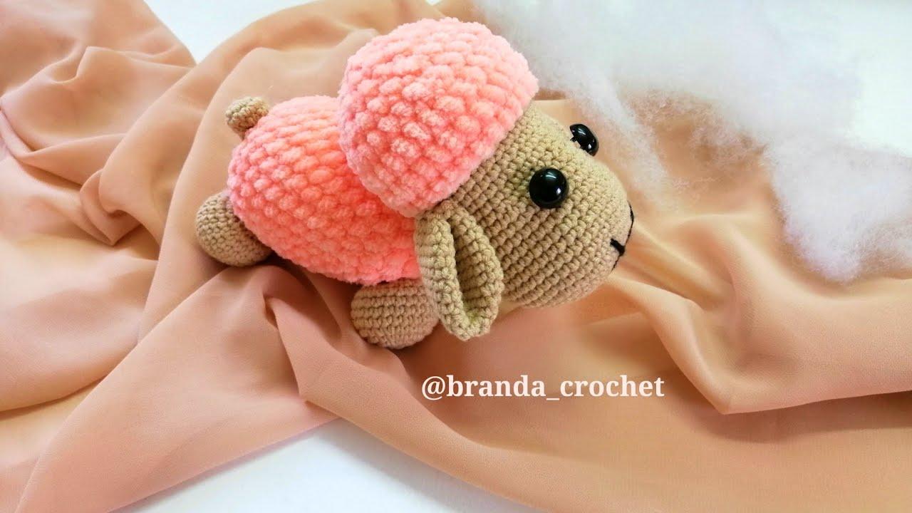 كروشيه خروف ايمجرومي 🐑 Crochet amiguraumi sheep