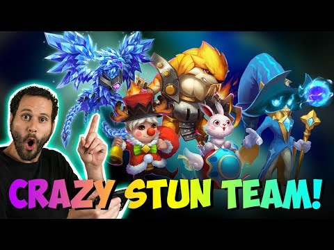 INSANE Stun Team Nothing Moves LOL Castle Clash