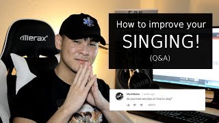 HOW TO SING! - Answering Your Questions (Q&A) thumbnail