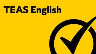 TEAS Test English Study Guide