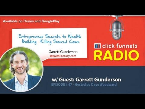 Garrett Gunderson, Entrepreneur Secrets to Wealth Building – Killing Sacred Cows