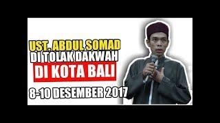 Download Video Viral! Inilah Detik-detik Aksi Penolakan Dakwah Ustadz. Abdul Somad di Bali MP3 3GP MP4
