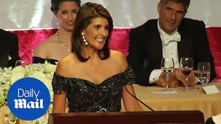 Nikki Haley jokes \'wanted an Indian but Warren failed DNA test\'