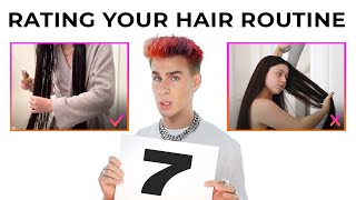 Pro Hairdresser Rates Your Hair Routine For Long, Healthy Hair