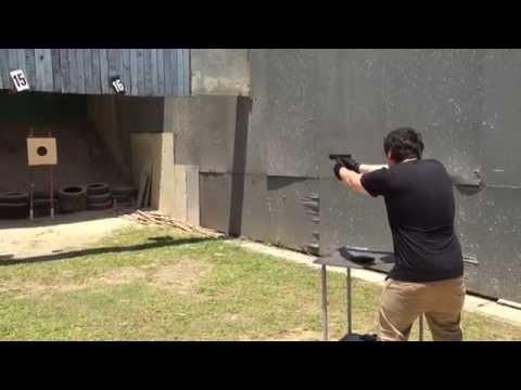 Real steel shoot G17 @Singapore shooting range SGC Singapore gun club