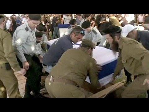 İsrail askerleri toprağa verildi