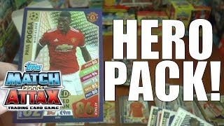 HERO PACK OPENING!!! | Topps Match Attax UEFA CHAMPIONS LEAGUE 2017-18 Trading Cards