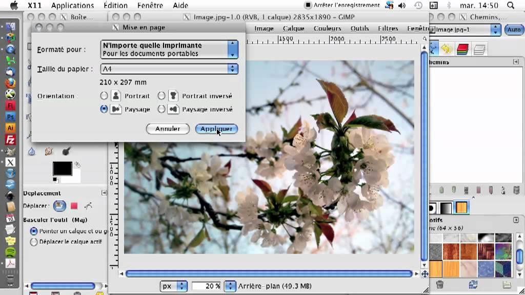 GIMP 05 Impression