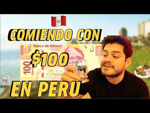 ● 1 DIA COMIENDO con SOLO $100 en PERU | Benshorts