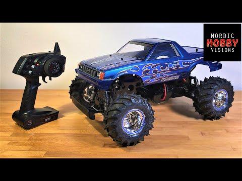 Tamiya Mud Blaster II 2WD 1/10 Classic Monster Truck Build Update #3: Ready to Run! (Waffling!)