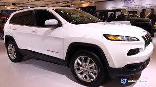 2016 Jeep Cherokee Limited 4x4 - Exterior and Interior Walkaround - 2016 Montreal Auto Show