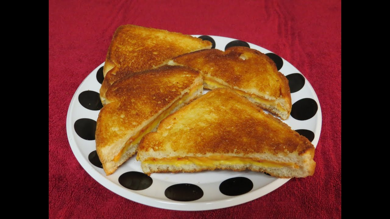 How to Make a Grilled Cheese Sandwich in the Toaster Oven Butter