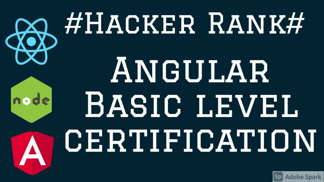 Hacker Rank Angular  Certification Basics #06