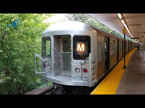 NYC Subway M Shuttle RFW Myrtle Ave to Metropolitan Ave
