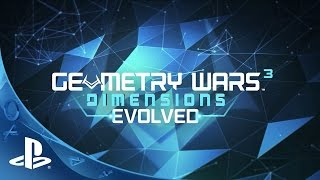 Geometry Wars 3: Dimensions Evolved - Launch Trailer | PS4, PS3