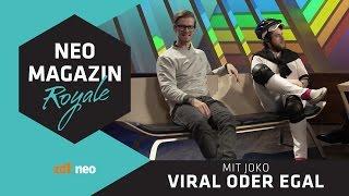Viral oder egal: Joko Winterscheidt | NEO MAGAZIN ROYALE mit Jan Böhmermann - ZDFneo