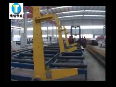 Производство двутавровой балки