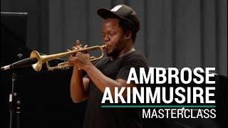 Masterclass amb Ambrose Akinmusire - Cicle Liceu Jazz