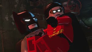 LEGO Batman 3 - 100% Guide #1 - Pursuers in the Sewers (All Collectibles - Minikits, Red Brick, etc)