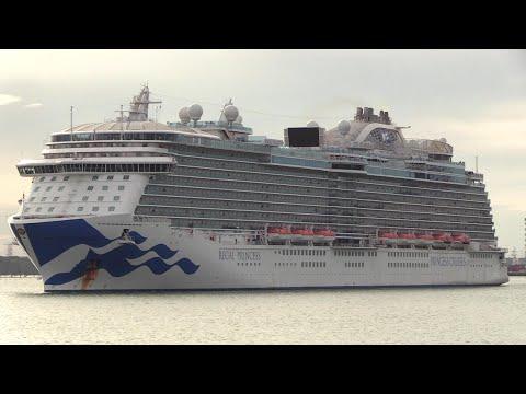 REGAL PRINCESS - repatriates ships crews back to Southampton from Port Everglades Florida 05/05/20
