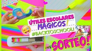 7 TRUCOS QUE NO CONOCÍAS PARA UN MÁGICO REGRESO A CLASES! + SORTEO INTERNACIONAL!!!♥ | Katie Angel thumbnail