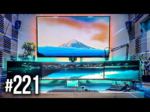 Room Tour Project 221 - BEST Gaming Setups!