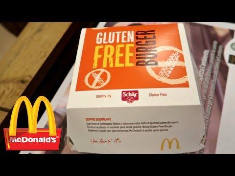 McDonald's Gluten Free Burger Taste Test
